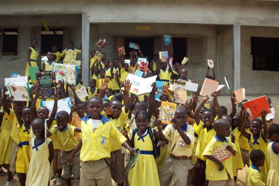 The Akumaning Brewu Foundation improves basic elementary school education in the rural villages of Ghana.